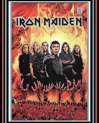 IRON MAIDEN #1 - Rock and Roll Biographies #5 | (2016) Acme Ink Comics (VF/NM)+