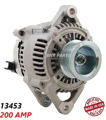 200 AMP 13742 Alternator Jeep Dodge High Output HD NEW Performance