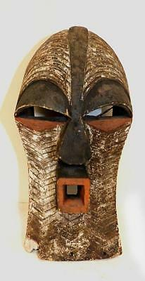 Vintage Songye Kifwebe Mask With Nice Form & Very Good Paint