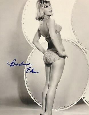 Barbara Eden AUTHENTIC HAND SIGNED 8x10 Photo I Dream Of Jeannie