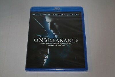 M. Night Shyamalan's Unbreakable Blu-Ray Disc DVD Mint Sealed!  MR. GLASS