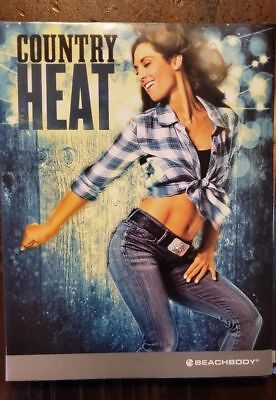 Hot Country Heat 3 Disc set of DVDs as the pictures shows
