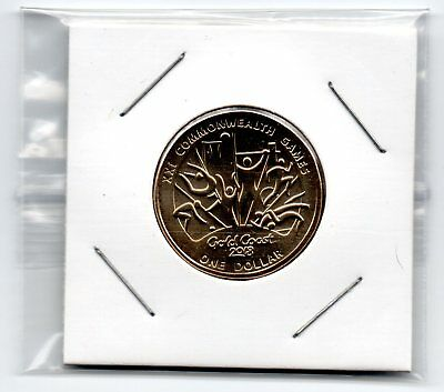 Australian $1 ExSet 2018 Unc GEM $1Coin Commonwealth Games Not For Circulation!!