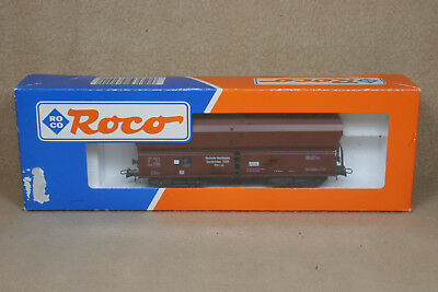 VINTAGE ROCO HO (1/87 Scale) SELF UNLOADING COAL CAR #46242 NIB, MADE IN GERMANY