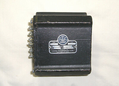 UTC LS-55 Output Transformer - Early Black Cast Case