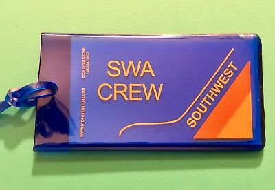 Southwest Airlines Crew Tag