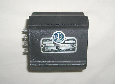 UTC LS-21 Transformer - Early Black Cast Case