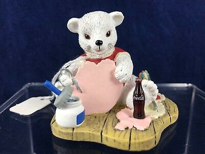 "Coca-Cola Brand Polar Bear Cubs ""With All My Heart"" - H72036"
