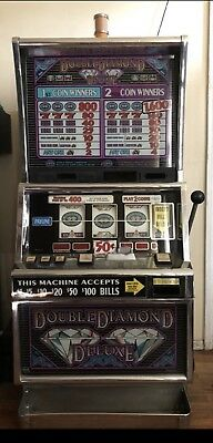 IGT  Double Diamond Deluxe Slot Machine For Sale