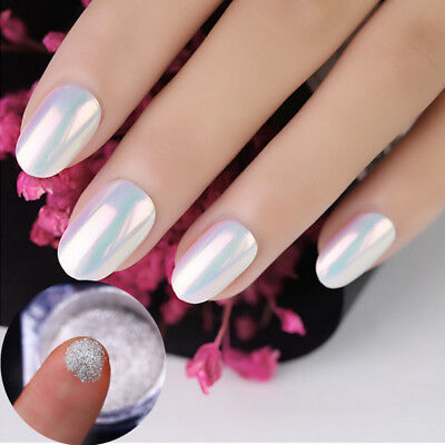 BORN PRETTY Neon Mermaid Nail Art Glitter Powder Mirror Shiny Chrome Pigment DIY