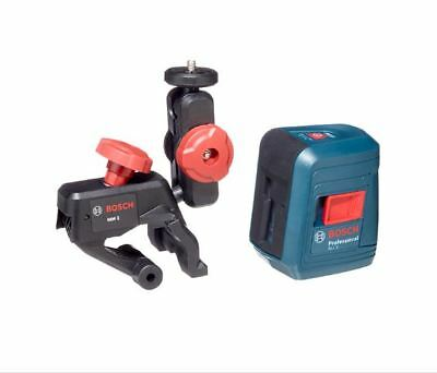NEW Bosch GLL 2 Self-Leveling Cross-Line Laser Level with Mount AND GLM 10
