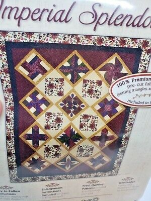 JO-ANN Fabrics Quilt Block Of the Month IMPERIAL SPLENDOR Collection Setting Kit