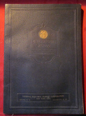 1929 General Electric Merchandise Catalog 112 Pages Bronx Brooklyn NY