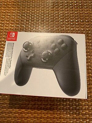 *BRAND NEW* UNOPENED Nintendo Switch Pro Black Controller *FREE SHIPPING*