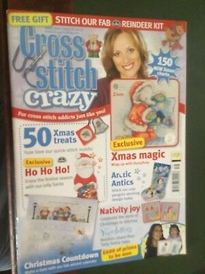 Cross stitch crazy magazine Xmas 2005/Issue 79