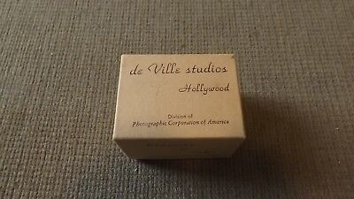 Vintage De Ville Studios  Hollywood Slide Viewer and Box