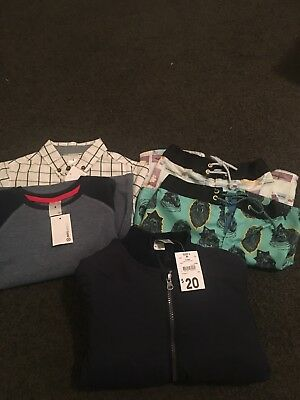 Size 4 Boys Clothing Bundle 5 Items Brand New With Tags