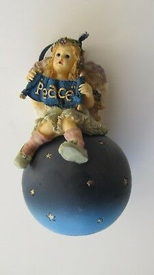 Boyd's Bears Wee Folkstone Angels 1st Edition 8637 Olivia Wishing You Peace
