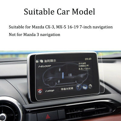 for Mazda CX-3 MX-5 2016-2019 car Navigation touch screen protector film 7-inch