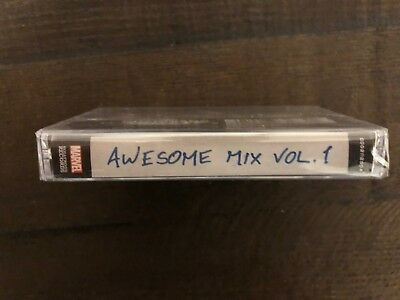 Guardians of the Galaxy Awesome Mix Vol 1 Cassette 2014 Black Friday RSD