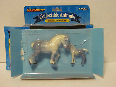 Stablemate size ERTL  Farm Country Horses.
