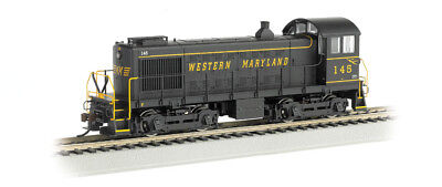 N Bachmann 63151 Diesel Locomotive Alco S4 Western Maryland #145 - DCC Equipped