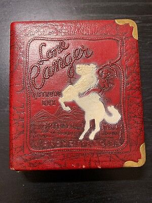 """1938 Lone Ranger Strong Box """"A Cache for Coins"""""""