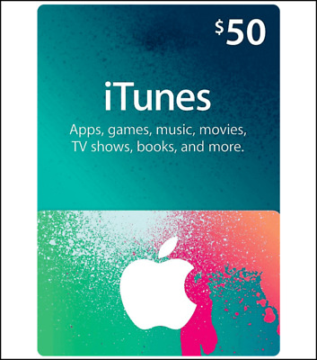 Apple iTunes Gift Card United States 50 USD