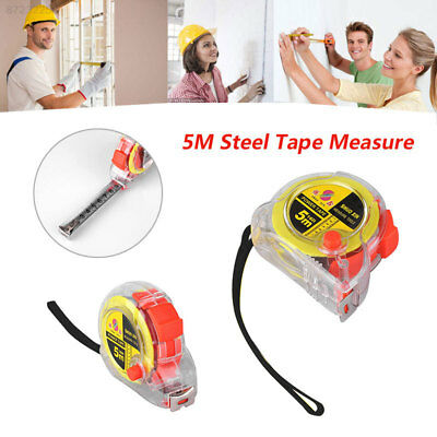A876 500CM Steel Tape Measure Woodworking Retractable Measuring Tools Home