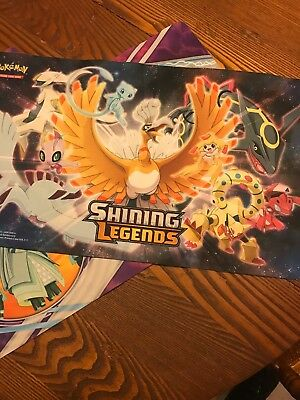 Pokemon Playmat Lot Set Of 4