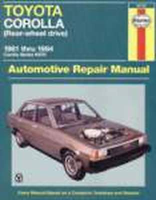 Toyoya Corolla KE70 From 1981-1984 Workshop Repair Manual with MPN HA92725