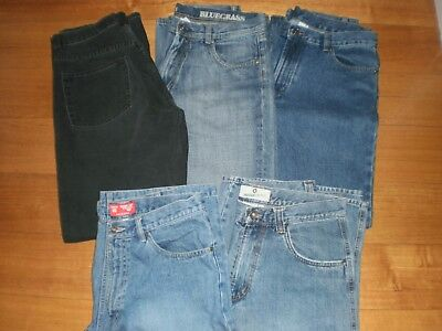 2  Pairs  of  Men's  Shorts +  3  Pairs  of  Jeans - Size  82
