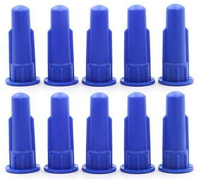 Cylindrical Cone For Cartridge Caulking Gun Spare Part Nozzles Sealant Tip 10pcs