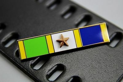Insignia US Police Bronze Star Meritorious Police Duty Commendation bar