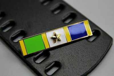 US Police Meritorious Police Duty Gold Star Commendation bar Citation