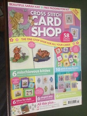 Cross stitch card shop magazine Issue 60