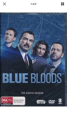 Blue Bloods The Eighth Season 8 Eight DVD NEW Region 4 Tom Selleck