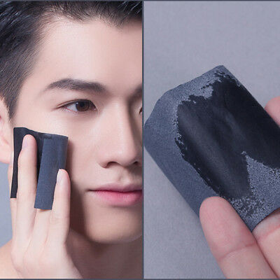 100X Charcoal Papers Makeup Cleansing Oil Absorbing Face Paper Facial CleanserLD
