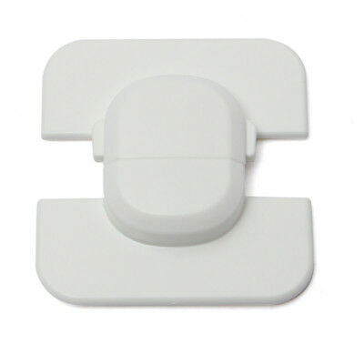 White Fridge Guard Baby Safety Child Lock Fridge Door Cabinet Latch
