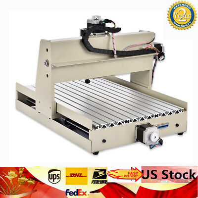 NEW!4 Axis Desktop CNC 3040T Router Engraver 400W Engraving Mill Drill Machine