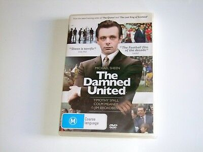 The Damned United - DVD **Free Postage** (Michael Sheen)