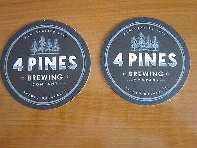 4 Pines Brewing Co, Beer coasters (x2)