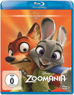 Walt Disney Motion Pictures Group Zoomania Classic Collection (BLU-RAY)