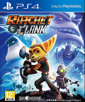 Ratchet & Clank (English/Chi Ver) for PS4 Sony Playstation 4
