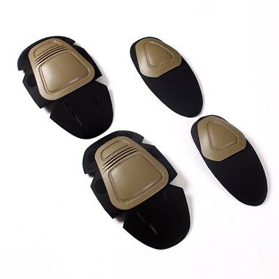 New Tactical Knee and Elbow Protector Pad Suit 2 Knee Pads & 2 Elbow Pads #LN8
