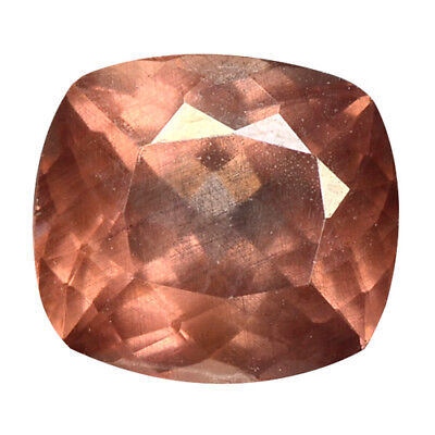 1.72 ct HUGE UNIQUE RARE NATURAL FROM EARTH MINED PINKISH RED MALAYA GARNET