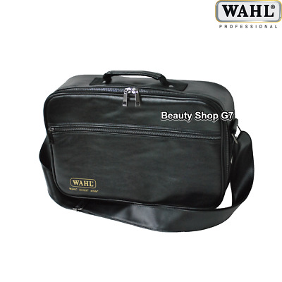 Original professional hairdresser barber kit bag Wahl Black-Gold Retro 0091-6145