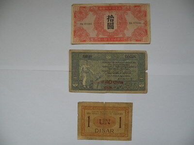 Lot Banknotes from different countries