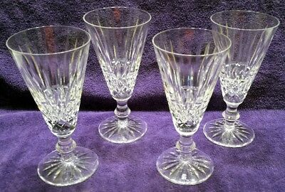 SET of 4 Waterford Tramore Cut CHAMPAGNE FLUTES   EXCELLENT