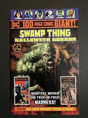 Swamp Thing Halloween Horror 100 Page Giant #1 WALMART Exclusive NM-